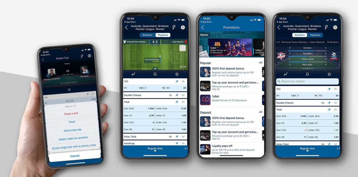 1xBet app Android download